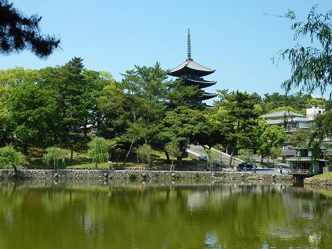 興福寺&猿沢池