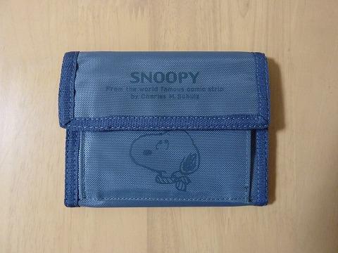 スヌーピーの財布