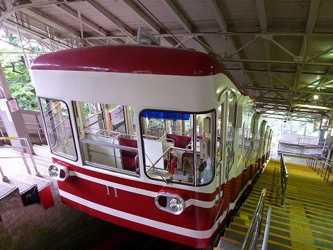 ケーブルカー(高野山駅)