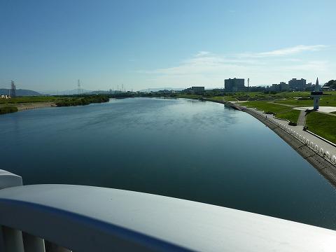 枚方大橋からの淀川