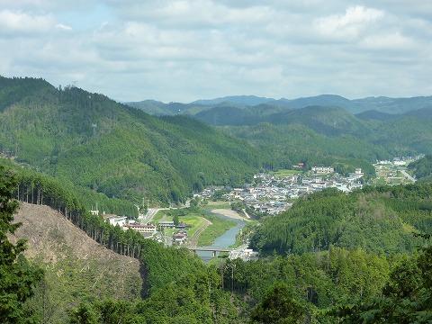 栗尾峠からの眺望