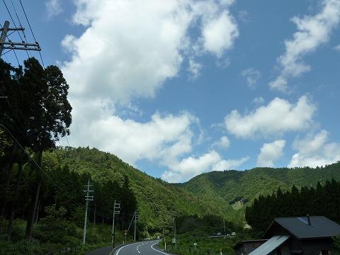 府道38号線_空&雲