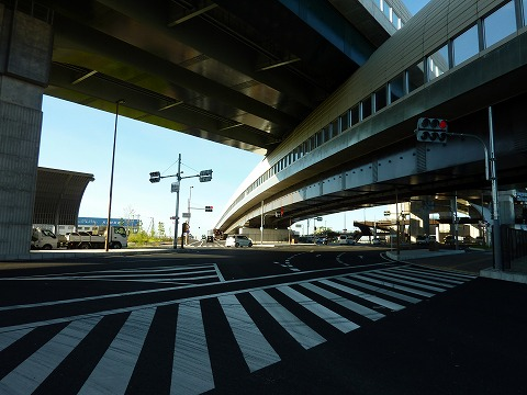 外環と第二京阪道路の交差