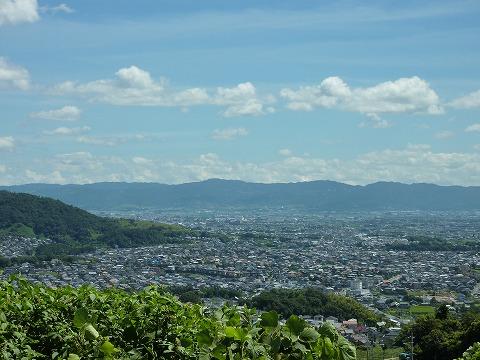 信貴山からの奈良側眺望01
