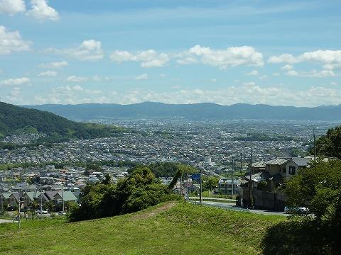 信貴山からの奈良側眺望02