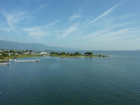 琵琶湖大橋からの眺望