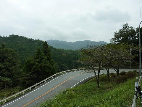 古坂峠への登り
