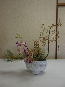 お正月 盛り花