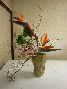 お正月花1