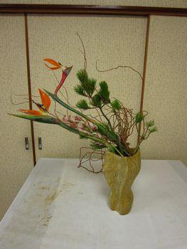 お正月花2
