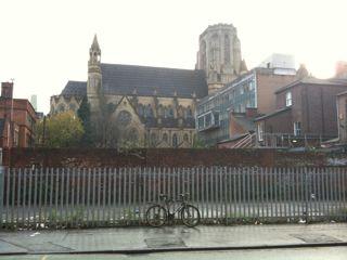 突然の教会