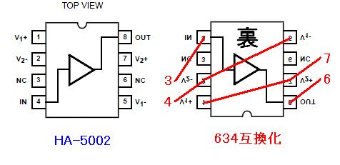 HA-5002の634化