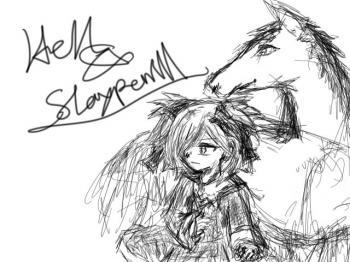 ヘル様とスレイプニル