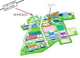 湘南キャンパス地図