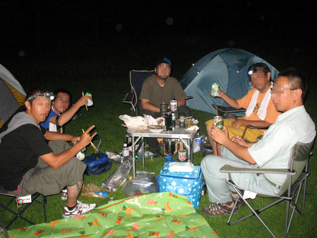 甘楽 平日キャンプ 065