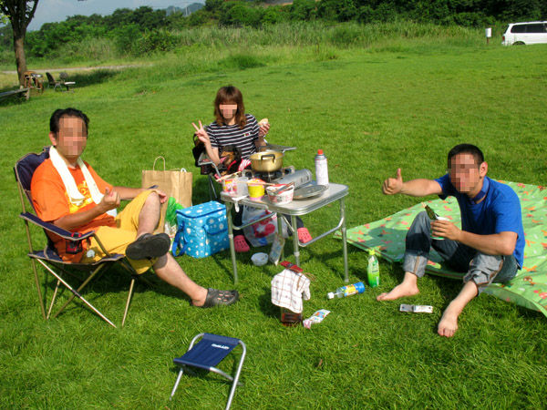 甘楽 平日キャンプ 097