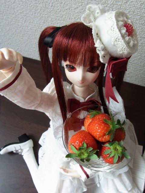 ショートケーキハット08