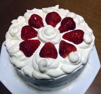 091227 クリスマスケーキ 2