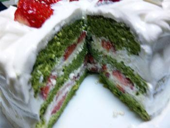 091227 クリスマスケーキ 3