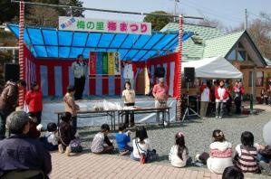 津山市神代梅の里公園梅祭りイベント作州津山商工会久米地区