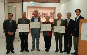津山市神代梅の里公園写真コンテスト表彰、展示アルネ津山