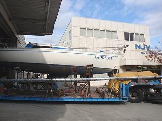2011-12-09, 01 艇のNJY到着
