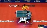 【卓球】 鄭栄植VSアラミヤン ITTFグランドファイナル2012
