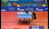 【卓球】 バウムVS丁祥恩 ヨーロッパスーパーカップ2012