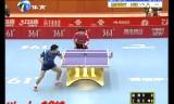 【卓球】 王皓VSハオ帥 中国超級リーグ2012