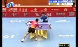 【卓球】 王皓VS雷振華 中国超級リーグ2012