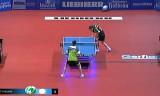 【卓球】 クリサンVSワンヤン ドイツカップ2012
