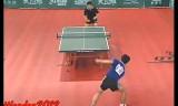 【卓球】 松下浩二VS張雁書 世界卓球団体2000