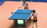 【卓球】 全日本選手権2013 石川VS鳥居(前練習)