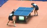 【卓球】 全日本選手権2013 福原愛VS丹羽美里