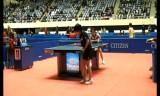 【卓球】 全日本選手権2013 亀崎遥の試合(1回戦)