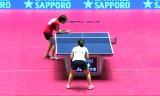 【卓球】 全日本選手権2013 福原VS石川(長時間)