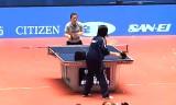 【卓球】 全日本選手権2013 福原愛の多球練習