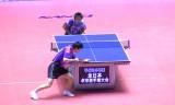 【卓球】 全日本2013 丹羽孝希VS松平健太(準決)
