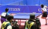 【卓球】 全日本2013 松山祐季VS張智和(Jr1回戦)