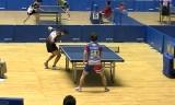 【卓球】 全日本2013 時吉佑一VS下山隆敬(5回戦)