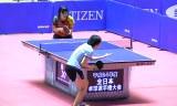 【卓球】 全日本2013 松平志穂VS宋恵佳(Jr準決)