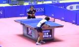 【卓球】 全日本2013 藤井優子VS天野優(6回戦)