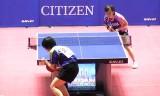 【卓球】 全日本2013 山梨有理VS粟屋美佳(4回戦)