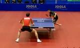【卓球】 アポローニャVSメンゲル ヨーロッパ選手権2013