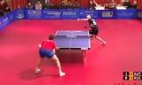 【卓球】 ハベソーンVSスカチコフ ヨーロッパ選手権