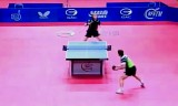 【卓球】 レグーの試合 スペインオープン2013