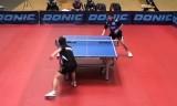 【卓球】 陳衛星VS王建軍 ECL2012-2013