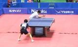 【卓球】 松平健太VS張一博 ジャパントップ12準決勝