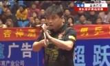 【卓球】 王皓VS樊振東 中国世界代表選考会2013