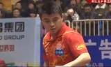 【卓球】 張継科VS王皓 中国世界代表選考会2013